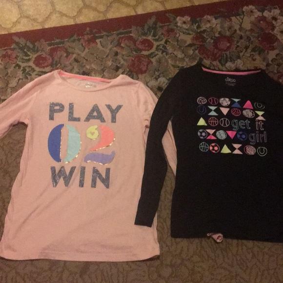 8b9c80ad0f176 Circo Shirts & Tops | 2 Long Sleeved Tshirts Girls 1416 Euc Target ...